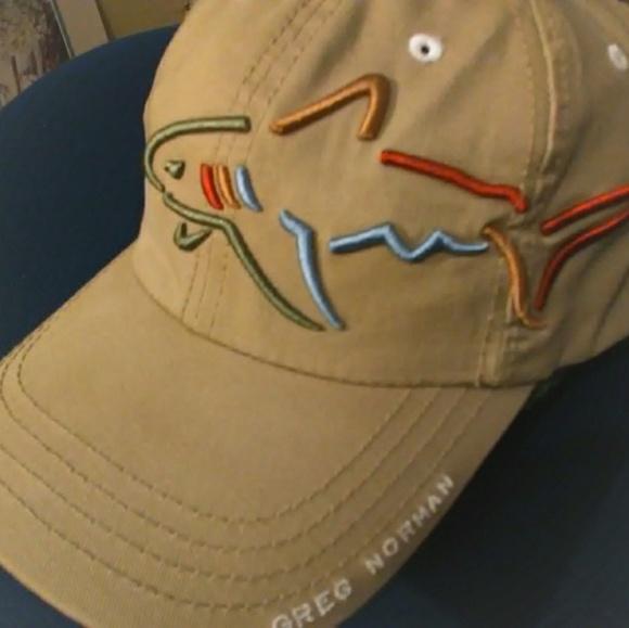 Greg Norman Collection Other - Vintage Greg Norman shark attack golf hat  big logo da251d1e58a2
